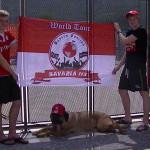 mit Bayern-Hund...