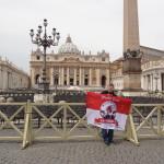 23.05.14 Marko Schild, Petersplatz, Vatikanstadt